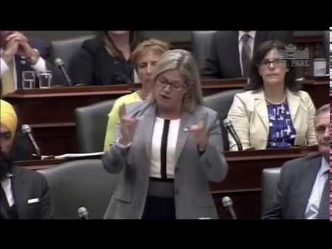 In Wake of Throne Speech, New Democrats call for Action: Andrea Horwath