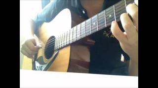 Taylor Swift -- Safe and Sound (fingerstyle/solo guitar cover)