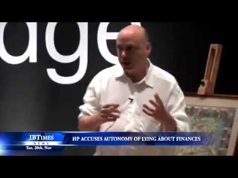 HP accuses Autonomy of lying about finances