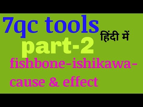 7qc tools part 2 fish bone cause and effectishikawa hindi youtube 7qc tools part 2 fish bone cause and effectishikawa hindi ccuart Image collections