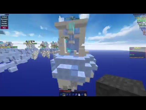 Hacking on Cubecraft Skywars #1 | Lucid