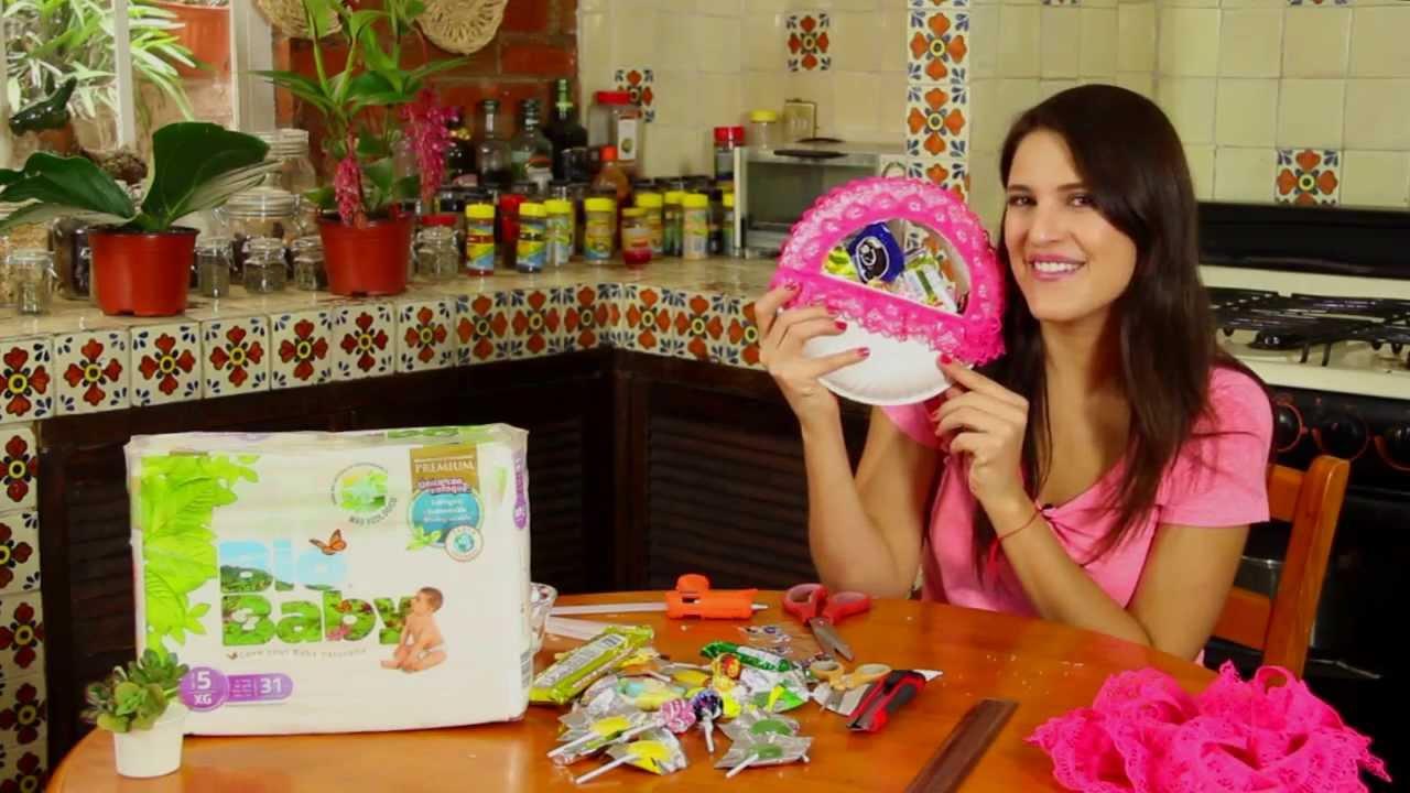 Dulcero con platos de carton youtube - Como hacer plastico liquido ...