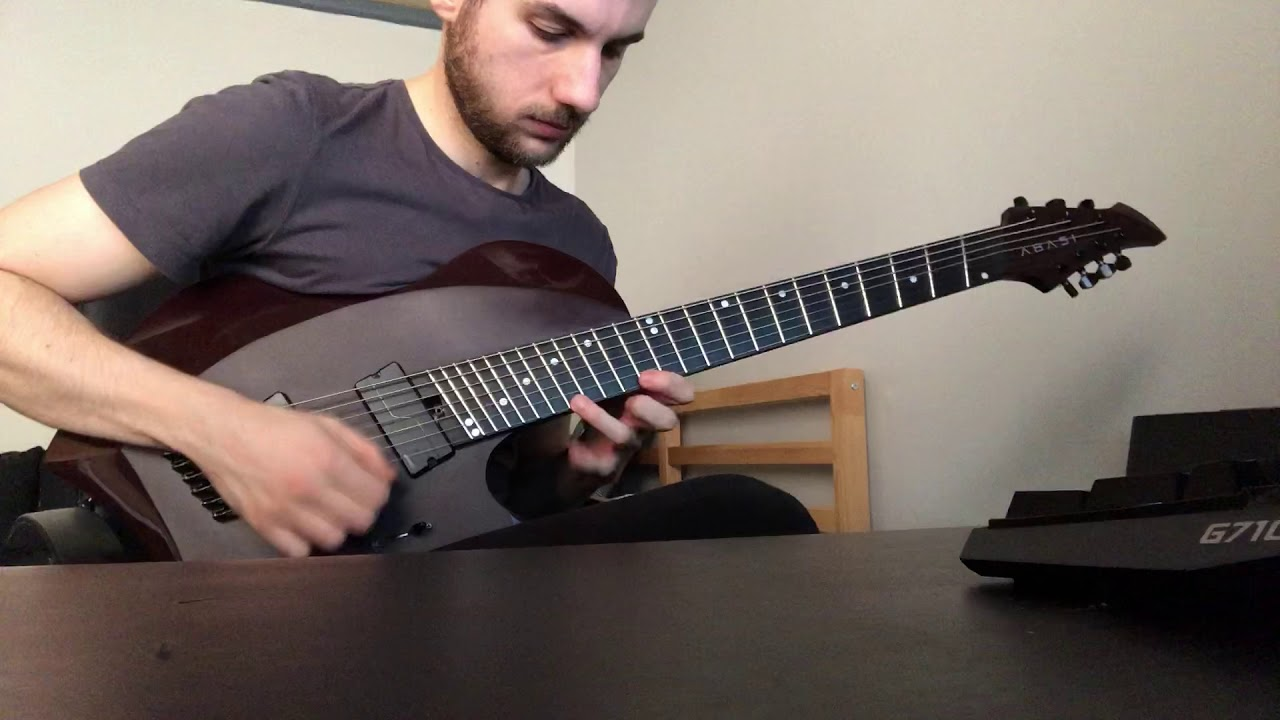 My solo for the Jared Dines Shred 2019 video.