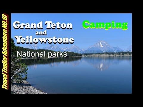 DRY CAMPING GRAND TETON AND YELLOWSTONE PARK