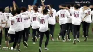 170331 프로듀스101(produce101) 시즌2 고척 야구개막전 축하공연 나야나  최민기 직캠
