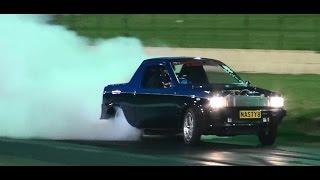 BURNOUT HIGHLIGHTS RACE 4 REAL SYDNEY DRAGWAY 19.8.2015