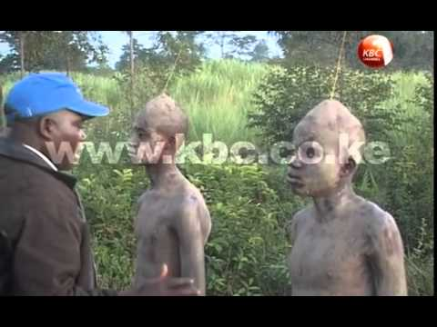 Circumcision rite among the Bukusu of western Kenya