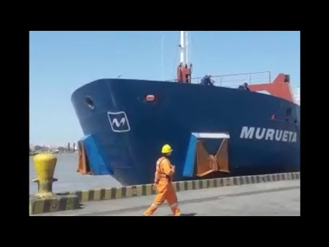 Maritime news: General Cargo ship collided with pier at BarranquillaSeamanfan.com