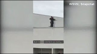 Florida school security guard pretends to shoot at students