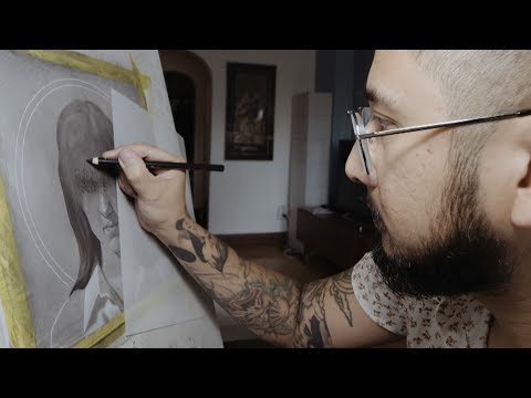 Winnipeg artist finds a flash of inspiration in the darkness of his nightmares