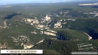 L'Ardèche vue du ciel (part 1) : Les fantastiques Gorges de l'Ardèche (4K)