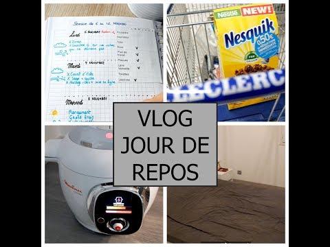 vlog-une-journée-de-repos-courses-recette-cookeo