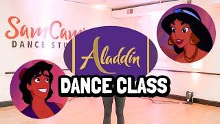 Free Online Aladdin Dance Class