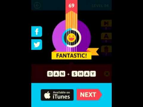 Icon Pop Song Quiz 2 Level 4 Game Answers