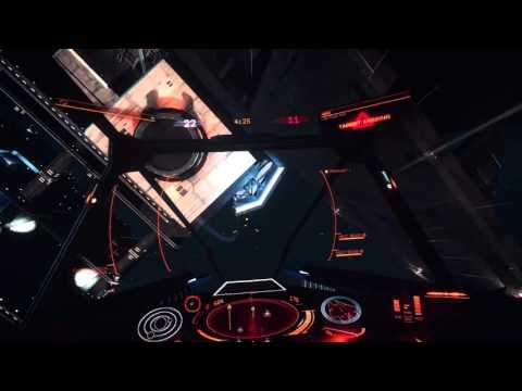 Elite: Dangerous - Heat Beam Demo.