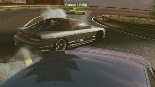 TANDEMS!! KAMI ROAD | NISSAN 180SX | CARX DRIFT RACING ONLINE PC