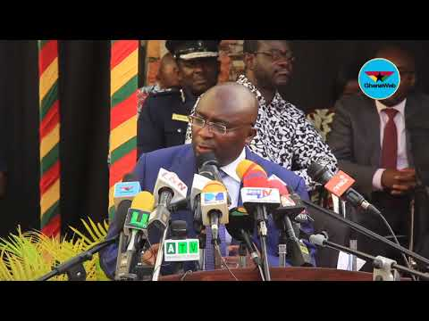 Launch of Smart Driver's Licence: Dr Mahamudu Bawumia's full speech