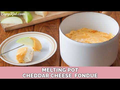 Melting Pot Cheddar Cheese Fondue