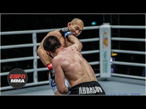 Yushin Okami loses ONE Championship debut by TKO  ESPN MMA