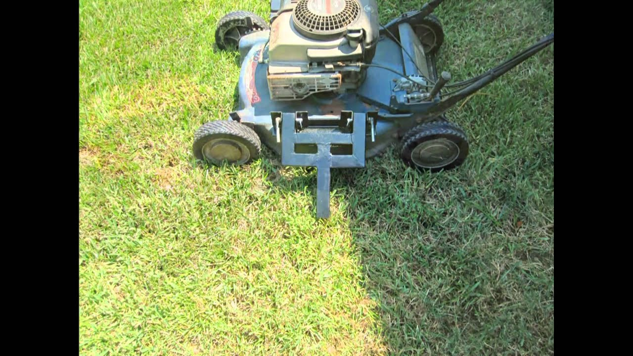 Ditch Cutting Lawnmower Wmv Youtube