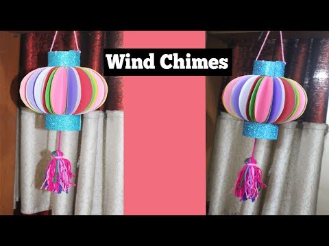 DIY Wind Chimes || How to Make Wind Chimes Out of Paper ||  Make Wind Chimes Using Paper