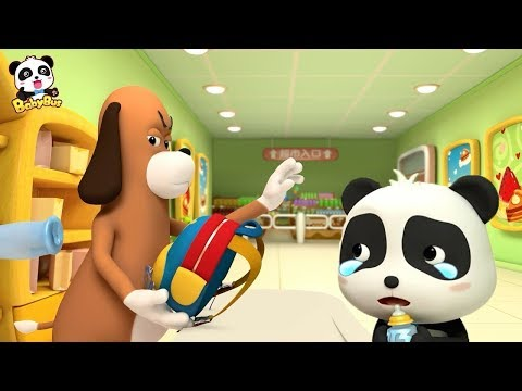 Baby Panda Can't Get His Bag Back | Shopping in Supermarket | Magical Chinese Characters | BabyBus
