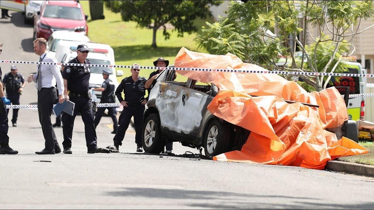 Brisbane car fire: Woman and three children killed in blaze allegedly ...
