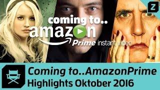 NEU bei Amazon Prime Video Oktober 2016 - die besten Filme und Serien | Zocked (German)