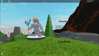 I am a GOD! Roblox God simulator InfinityGamer721