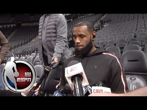 LeBron James refuses to discuss whether the Cavaliers held a team meeting | NBA on ESPN