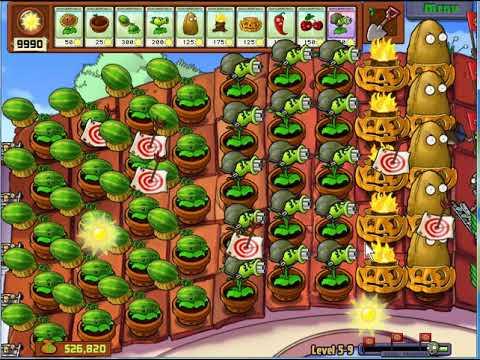 [NHATPV] Hoa quả nổi giận – Plants vs zombies hack – Chấp tất cả Zombie
