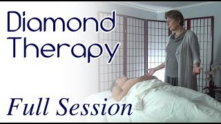 Demonstration of a Full Diamond and Gemstone Therapy Session