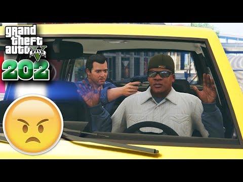 FranklinលួចឡានMichael - Franklin Steals Michael's car - GTA 5 Redux Real Life Ep202 Khmer VPROGAME