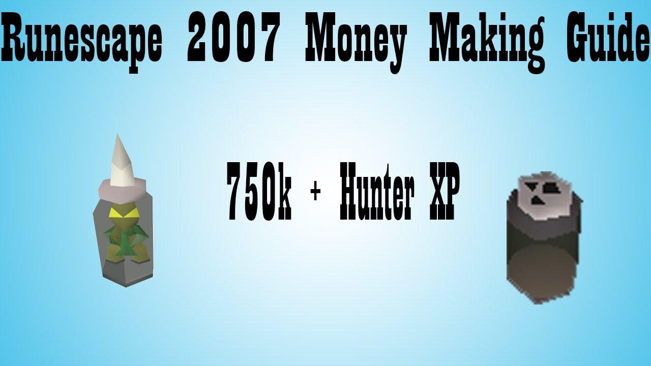 hunter money making guide 2007