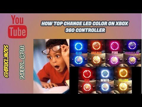 How to Change Led color on xbox 360 controller [Tutorial]