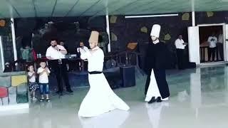 Muş programı semazenli islami düğün