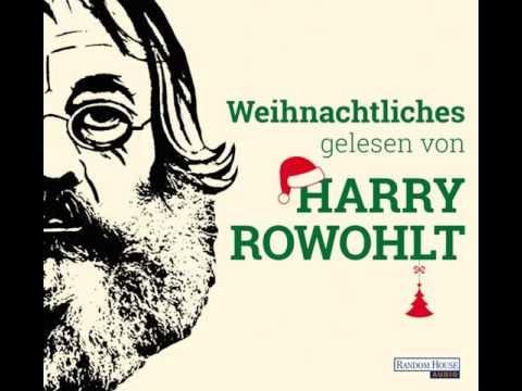 Weihnachtliches gelesen von Harry Rowohlt YouTube Hörbuch Trailer auf Deutsch