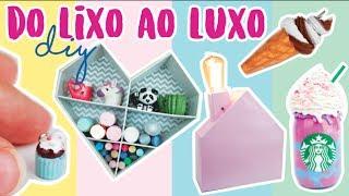 DIY: 10 ideias INCRÍVEIS do LIXO AO LUXO! Feat. Segredos de Aline! Por Isabelle Verona