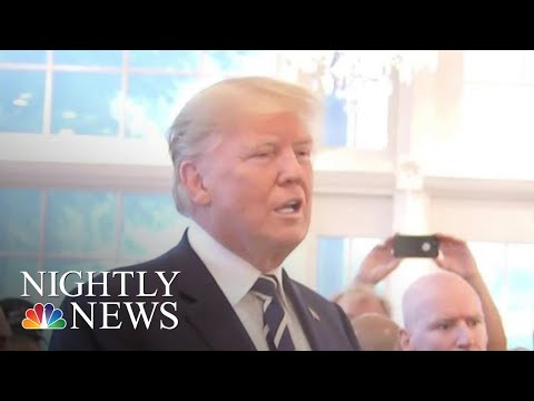 President Trump Responds To Omarosa Manigault Newman At Event With Supporters | NBC Nightly News