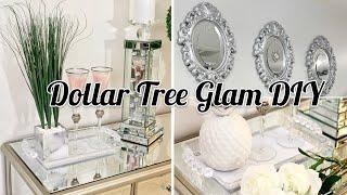 3 DIY DOLLAR TREE GLAM COFFEE TABLE DECOR IDEAS