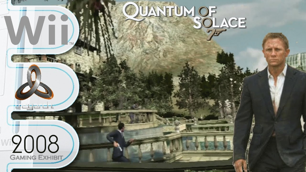 007 Quantum Of Solace Wii Part 1 Youtube