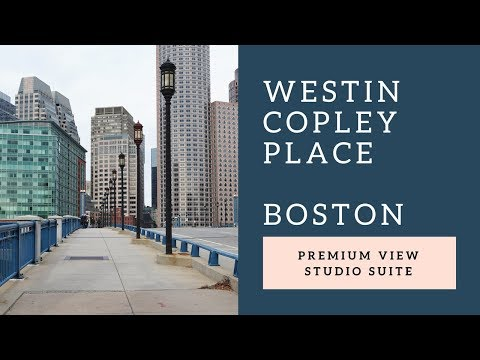 Westin Copley Place Boston Premium View Studio Suite 2 Queen Beds (2017)