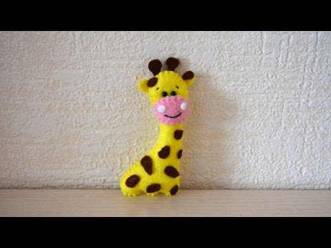 How To Make A Giraffe From Felt - DIY Crafts Tutorial - Guidecentral