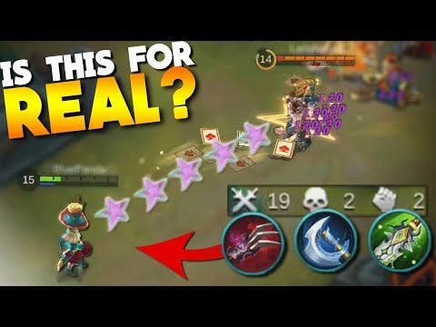 Harley As A Physical DMG Marksman? (PentaKill pls) Mobile Legends Build Gameplay