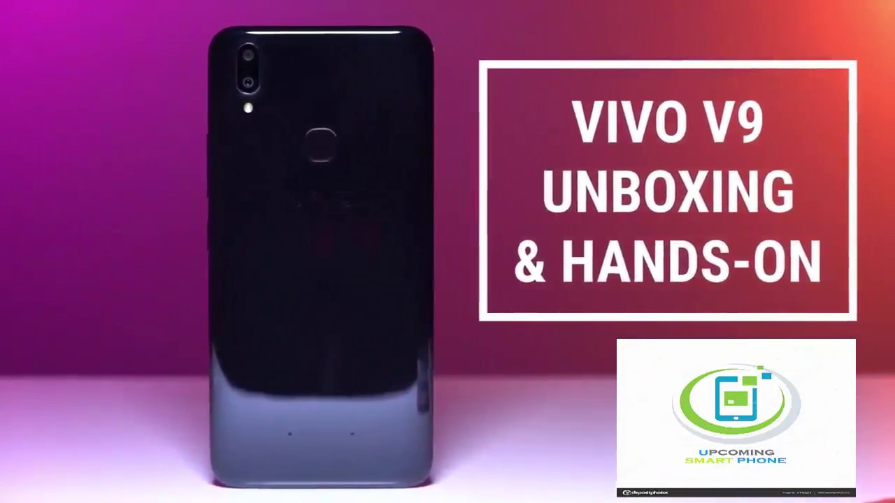 Vivo V9 (19:9 FullView Display) Unboxing and Hands-on