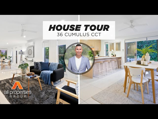 36 Cumulus Circuit Coomera | House Tour | Chris Gilmour