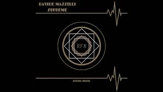 Davide Mazzilli - SUPREME - (Original Mix) Resimi