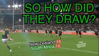 So it's a draw... | New Zealand 16 - 16 South Africa | The Squidge Report