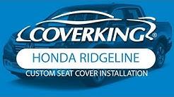 How to Install 2006-2014 Honda Ridgeline Custom Seat Covers | COVERKING®