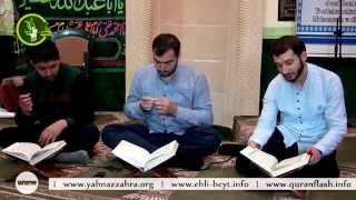 Hacı Ruslan, Hacı Rahib və Hacı Anar  Ramazan 5-ci gun Quran tilavəti (5-ci cuz)
